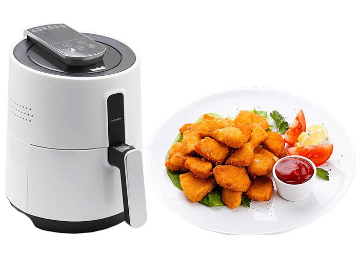 در استفاده از این محصول نیاز به روغن با حجم زیاد نیست همینکه با یک قلمو سطح مواد را چرب کنید، غذا کاملا سرخ و پخته میشود.