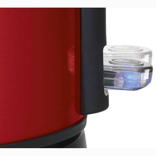 دکمه پاور در قسمت پایین بدنه قرار گرفته که با فشار دادن آن به سمت پایین دستگاه روشن میشود.