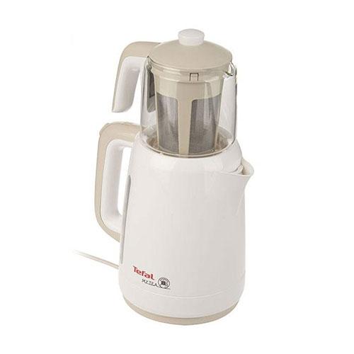 این چای ساز با بدنه پلاستیکی بسیار سبک بوده تا حین بلند کردن آن با یک دست، فشار به دستتان وارد نشود.