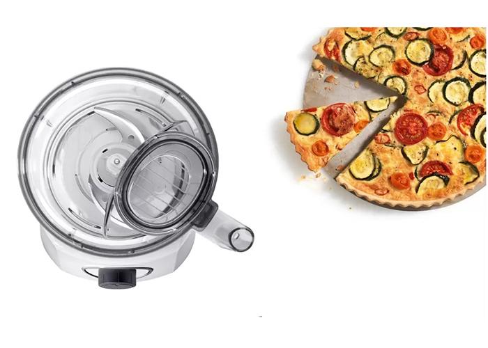 کلیهی قسمت های این غذاساز از پلاستیک بوده که به منظور حفظ سلامت خانواده، فاقد BPA میباشد.