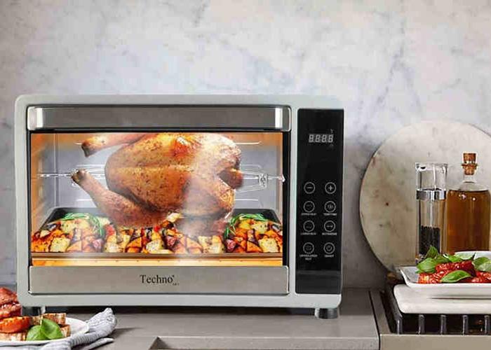 آون توستر تکنو مدل Te-458 محصولی زیبا و کارآمد است که متناسب با آشپزخانههای امروزی طراحی شده است.