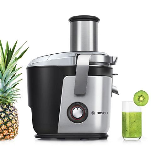 آبمیوه گیری بوش مدل MES4010 یک دستگاه پر قدرت است که میتواند به شما در آبگیری انواع میوه و سبزیجات کمک کند.
