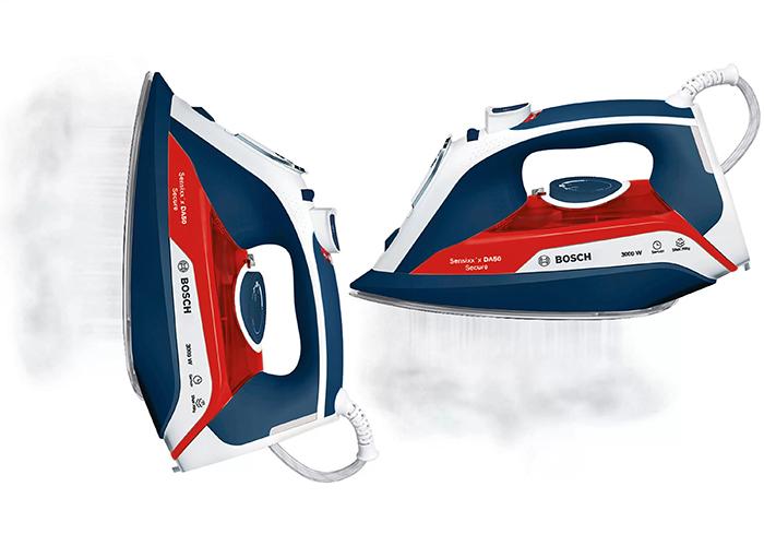 اتو بخار بوش مدل TDA5030110 با بخاردهی پیوسته 45 گرم در دقیقه هیچ چروک سطحی روی لباس شما باقی نمیگذارد.