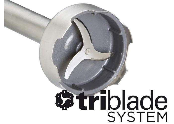 همزن های قلمی Triblade از همزن های برتر موجود در بازار است که در آنها بجای دو تیغه از سه تیغه استفاده شده.