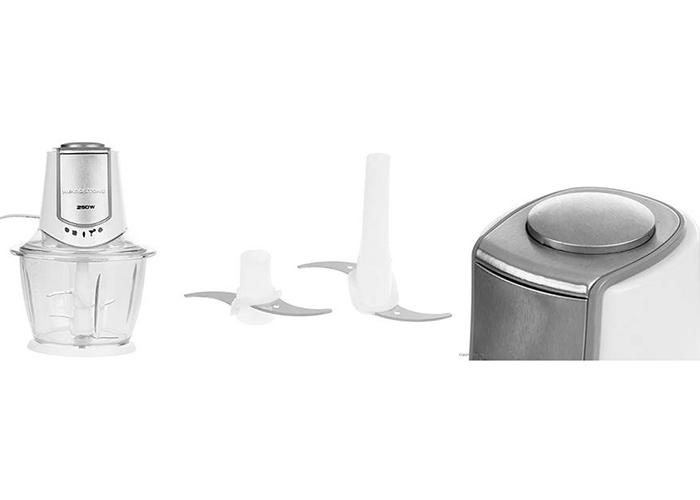 این دستگاه دو تیغه استیل ضد زنگ و مجزا داشته تا شما امکان نصب یک یا هر دو را داشته باشید.