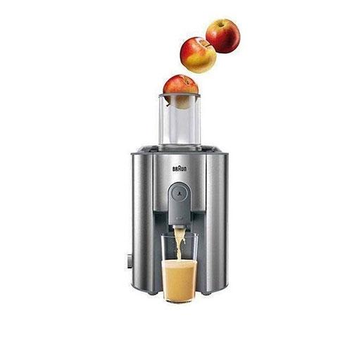 . بادهانهی 75 میلی متریاین محصول میتوانید یک سیب متوسط را به راحتی وارد کنید، حتی سبزیجات و میوههای کوچکتر بدون خورد شدن قابل استفاده توسط این دستگاه میباشند.