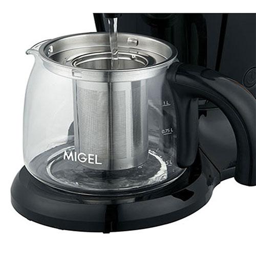 یک شیر روی این چای ساز 3 کیلوگرمی تعبیه شده تا مجبور نباشید برای ریختن آب جوش در فنجان آن را بلند نمایید.