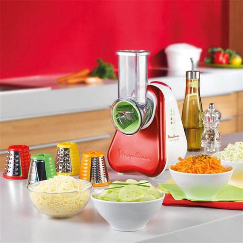 دو رنگ سفید و قرمز در بدنه این محصول بکار رفته که این ترکیب رنگی شاد زیبایی محصول را دوچندان کرده است. همچنین دارای پنج رنده با رنگهای متنوع میباشد.