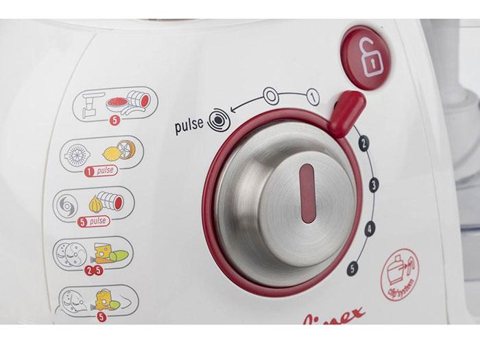 در جلوی دستگاه شاهد یک ولوم چرخشی هستید که با چرخش به سمت راست روشن شده و با چرخش به سمت چپ عملکرد پالس را اجرا میکند.