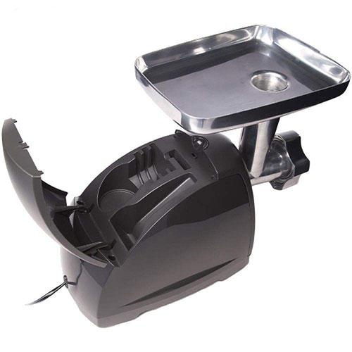 این دستگاه توسط محفظهی کوچک روی بدنه این مشکل را حل کرده تا تیغه و شبکهها به راحتی داخل آن قرار گیرند.