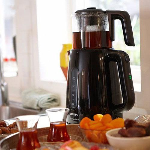 چای ساز فیلیپس با ظرفیت ۱.۹ لیتری خود میتواند برای تمام افراد خانواده مناسب باشد.
