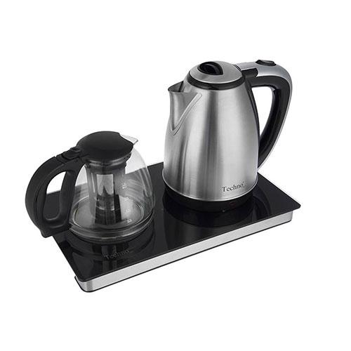 این چای ساز با بدنه استیل مقاوم و سبک بوده تا حین بلند کردن آن با یک دست، فشار به دستتان وارد نشود.