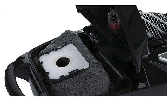 تکنو برای محصولات خود یک کیسه پارچهای با ظرفیت 6 لیترطراحی کرده که با توجه به جنس آن هیچ گرد و غباری از کیسه خارج نشده و کمترین فشار به موتور وارد شود.