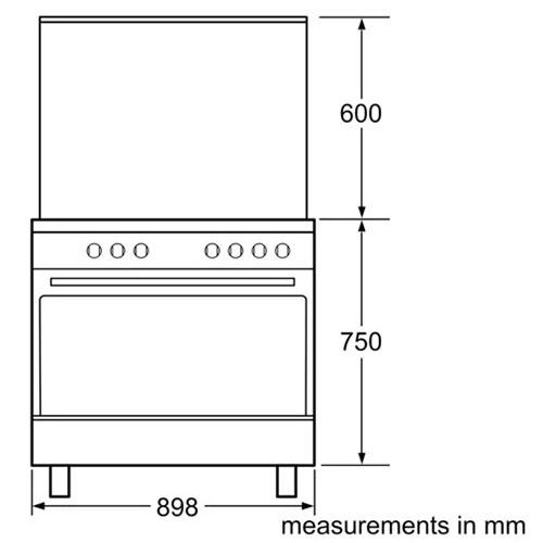 اجاق گاز بوش مدل HSG736227I