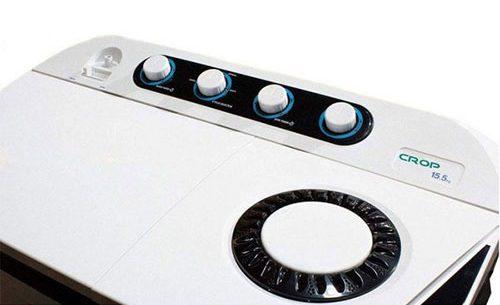 ماشین لباسشویی دوقلو کروپ مدل WTT-15524FJ