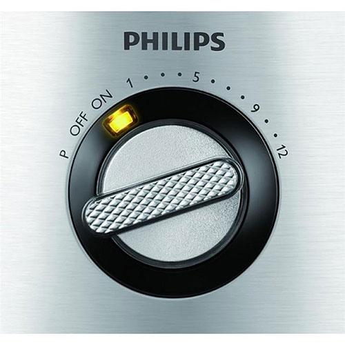 در جلوی دستگاه شاهد یک ولوم چرخشی هستید که توسط آن سرعت در 12 حالت قابل تنظیم است.
