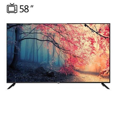 تلویزیون هوشمند سام الکترونیک مدل 58TU6500 سایز 58 اینچ