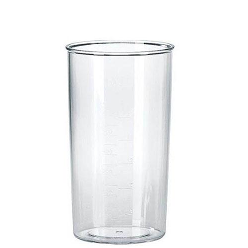 به همراه این دستگاه یک لیوان مدرج 600 میلی لیتری نیز ارائه میشود که برای کوبیدن و له کردن انواع مواد غذایی کاربرد دارد.