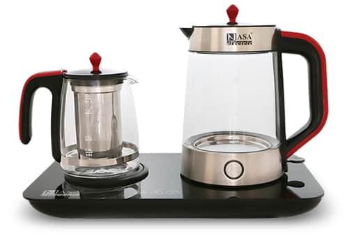 چای تولید شده با این دستگاه گرمای زیادی ندارد و می توان گفت دمای ملایمی دارد.