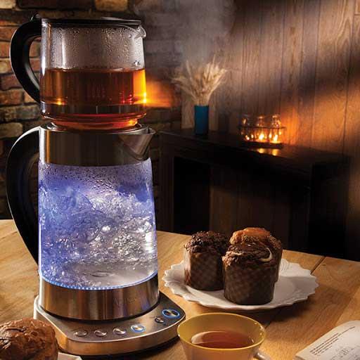 چای سازهایی با قابلیت خاموش شدن خودکار برای افرادی با مشغله کاری زیاد، انتخاب مناسبی میباشد.